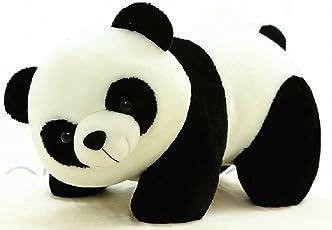 Tickles Panda Stuffed Soft Plush Toy, Black/White (40cm)