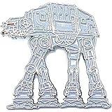 Spilla in metallo smaltato con Star Wars AT-AT Imperial Walker (30 mm)