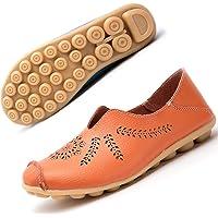 Mocassini da Donna Scarpe da Guida Primavera Estate Casuali Piatto Scarpe da Barca Loafers Slip On Sandali 35-43