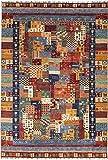 Nain Trading Arijana Puzzle 268x186 Orientteppich Teppich Orange/Dunkelblau Handgeknüpft Pakistan