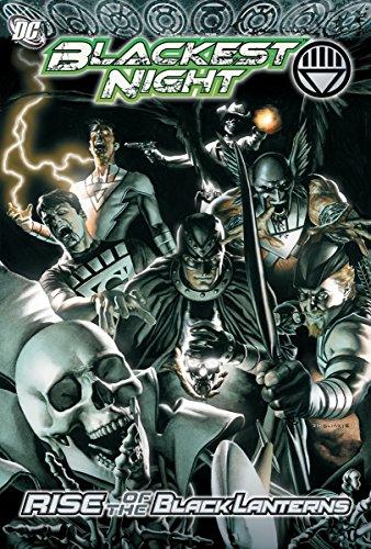 Blackest Night: Rise of the Black - Comics Dc Lantern Black