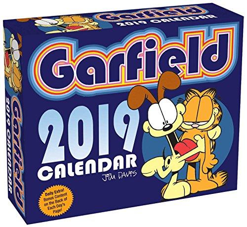 Garfield 2019: Original BrownTrout-Tagesabreißkalender por Jim Davis
