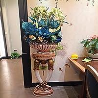 GUANGMING77 Vase Blume Simulation Suite Luxus Villa Wohnzimmer Dekoration  Dekoration Wohnungseinrichtung Handwerk Blume Blumen Vase,