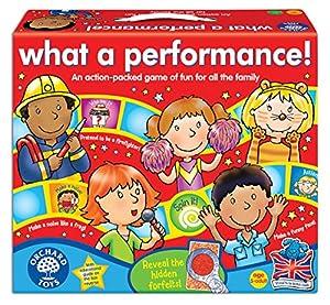"Orchard Toys BG32 - Juego de mesa ""What a Performance!"" (en inglés, importado del Reino Unido)"