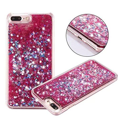 iPhone 6/6S Coque - 3D Design Créatif Prime Luxe Shine Flow Sand Adorable Flowing Flottant Mouvement Shine Glitter Sequins Bling Cute Pattern Téléphone Case pour iPhone 6/6S - Born to Shine 9-D