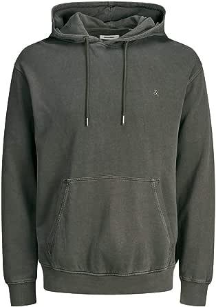 JACK & JONES Men's Jjewashed Sweat Hood Noos Sweatshirt