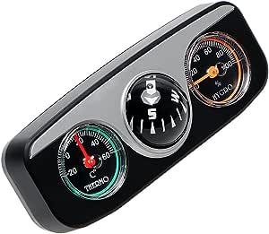 Nopnog Auto Innendekoration Thermometer Hygrometer Kompass 3 In 1 Auto Dekorationen Auto