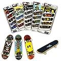 Tech Deck - Pack de 4 monopatines en miniatura (surtido de 4 unidades: modelos varian) de Tech Deck