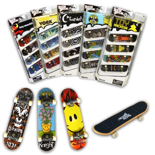 Tech Deck 4er Pack (sortiert) ()