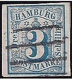 Goldhahn Hamburg Nr. 4 gestempelt Geprüft Briefmarken für Sammler