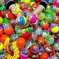 24 x capsules surprise remplie avec petits jouets✔ remplissage par exemple: balle rebonissante, yoyo, bracelet, spirale, attrape, casse tête, figurine collante, peluche.... plusieurs petis jouets✔ idéale comme petit cadeau - pinata - chasse au trésor...