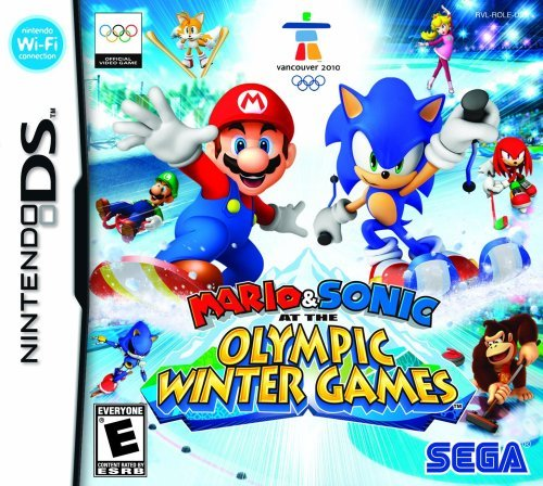 Mario and Sonic at the Olympic Winter Games - Nintendo DS by Sega - Mario Sonic Und Ds