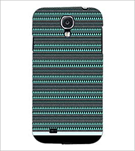 PrintDhaba Tribal pattern D-1759 Back Case Cover for SAMSUNG GALAXY S4 (Multi-Coloured)