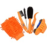 CkeyiN ®6pcs / lot Fahrrad Kettenfilter Kits Fahrrad Reiniger Werkzeug Satz Reifen Pinsel Ketten Wash Bremsscheibe Reiniger