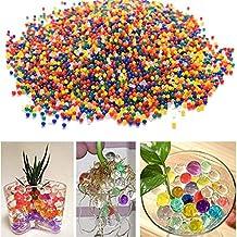 Hosaire 1000 Piezas colores mezclados gel cristalino del agua Agua Jelly Perla(Mezclar)