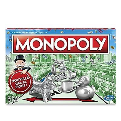 Hasbro - C10091010 - Monopoly Classique Version 2017