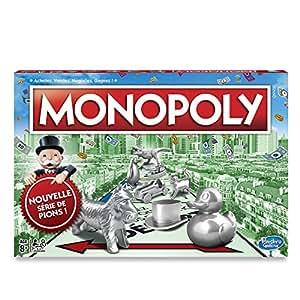 Monopoly - Jeu de societe Monopoly Classique - Jeu de plateau - Version française