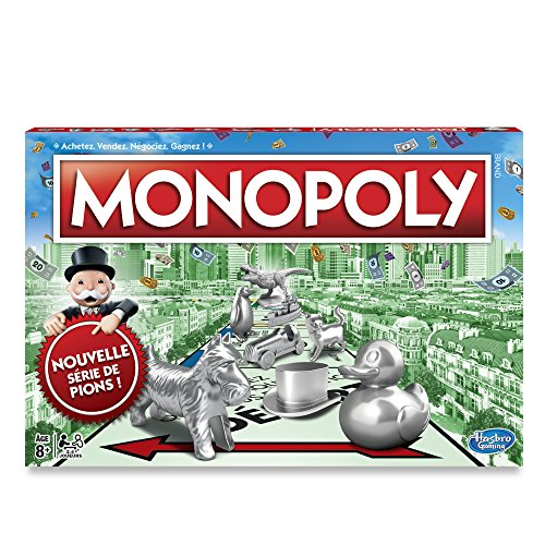 Hasbro Gaming - Monopoly Classique Version 2017 - C10091010