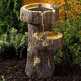 Altuna/bikain Solar Fountain, Tree Trunk design
