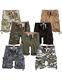 Trooper Vintage Cargo Shorts Lightning Edition im Bundle mit UD Sturmfeuerzeug