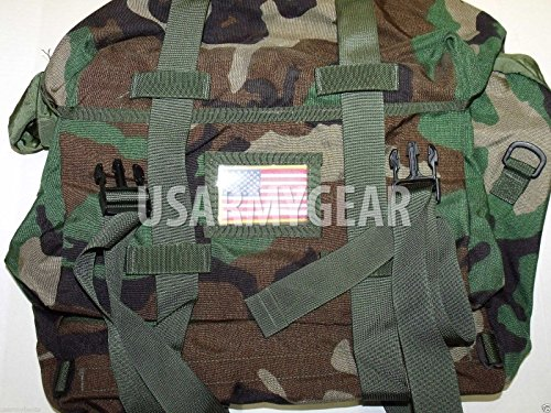 Us Army Woodland Camo (New US Army Military Military Military Issue GI Woodland Camo Wasserdichte Schlafsystemtasche SSC Bag MOLLE-MSSS)