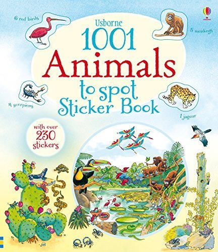 1001 Animals to Spot Sticker Book (1001 Things to Spot Sticker Books) by Teri Gower (2015-02-01)