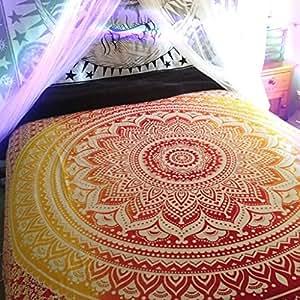 Indian Mandala Wandteppich werfen, Hippie Hippy Wandbehang Bohemain Bettwäsch...