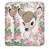 Doro Primo 401 Sleeve Bag Tasche Hülle Bambi Flower Child