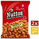 #2: Nuttoz Masala (Sweet Chilli) Roasted Peanuts 150gm (Pack of 2)