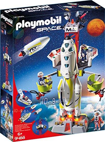 Playmobil 9488 - Razzo Spaziale con Rampa di Lancio
