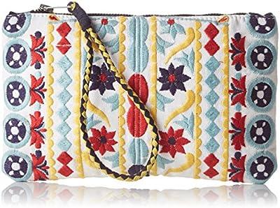 Antik Batik Bundi - Cartera de mano para mujer multicolor Multicolor (Multico) 1x14x23 cm (W x H x L)