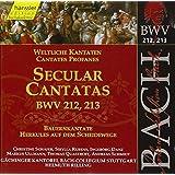Bach: Secular Cantatas, BWV 212, 213 (Edition Bachakademie Vol 67) /Rilling