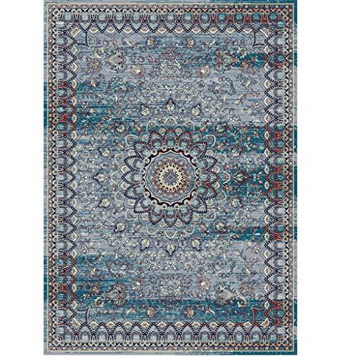 Qiao tappeto tappeto soggiorno tappeto da salotto in stile iraniano tappetino da caffè tappeto per camera da letto letto completo letto coperta rettangolare antiscivolo antipolvere tappeto assorbente