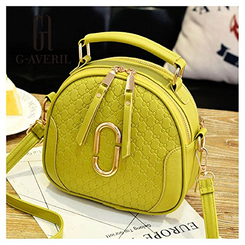G-AVERIL, Borsa a mano donna Light grey Green