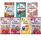 TeeFee Bio Früchtetee - Kennenlernset- 7 fruchtige&freche Beuteltees, Kindertee, natursüß und vegan, 140 g