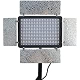 Mcoplus LED-420A CRI95 LED-Licht 432PCS LED Lampe 2800LM 3200K - 5500K Temperatur Video LED Farblicht mit 2,4 Ghz Funk-Fernbedienung und intelligente Kühler Ventilator für Canon Nikon Sony Panasonic Olympus Pentax & DV-Kamera Comcorder