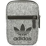 adidas Unisex-Erwachsene Fest Bag Casual Kuriertasche, Braun (Carnoc/Blanco), 17x12x2 Centimeter (W x H x L)