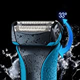 Braun WaterFlex Elektrorasierer WF2, mit Gillette Sensitive Gel - 3