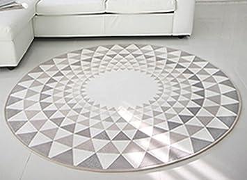 Runde Teppich hjhy runder teppich amerikanisch modern einfache geometrie teppich