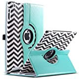 Best Ipad Cases - iPad 2/3/4 Case,ULAK 360 Rotating Magnetic PU Leather Review