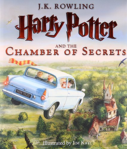 Harry Potter and the Chamber of Secrets: The Illustrated Edition (Harry Potter, Book 2) (ANGLAIS)