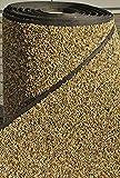 Steinfolie 100cm breit für Teich-Rand Brunnengarten Bachlauf Ufermatte Bekieste Teichfolie