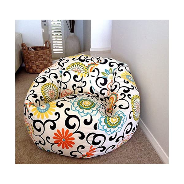 Marvelous Aart Store Mosaic Xxxl Bean Bag With Beans Filled Blue Color Bralicious Painted Fabric Chair Ideas Braliciousco