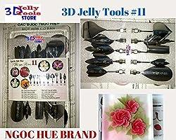 3d Gelatin Art Tools - Type 11 - 3d Jelly Cake Tools - 10 Pcs/set
