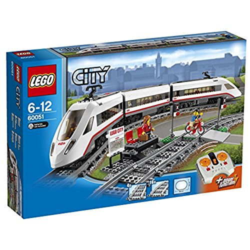 LEGO City - Le train de passagers à grande vitesse - 60051 - Jeu de Consruction