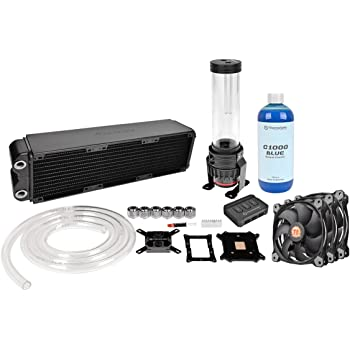 Thermaltake Pacific R240 D5 Soft Tube LCS Kit Riing 12 Wasserk/ühlungsset rot