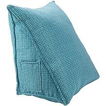 HALOViE Almohada lumbar espalda triangular almohadilla de cuña Sofá cama Silla de oficina coche cojín Ortopédico