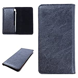 DooDa PU Leather Case Cover For MI 4I (Black)
