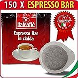 150 Dosettes de Café Expresso ESE Italcaffè Espresso Bar 44mm