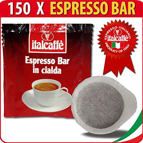 150-Dosettes-de-Caf-Expresso-ESE-Italcaff-Espresso-Bar-44mm